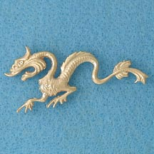 Large Dragon Pin